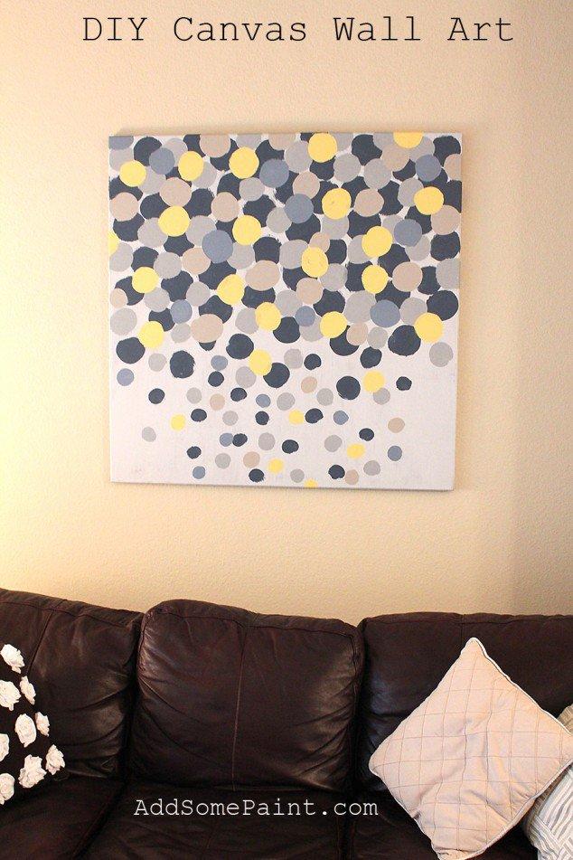 Wall Art Canvas Diy : Easy diy canvas wall quotes quotesgram