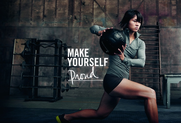 Fitness Motivation Women Abs Workout Quotes Nike Mo...