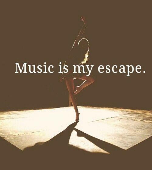 Escape Quotes: Music Is My Escape Quotes. QuotesGram