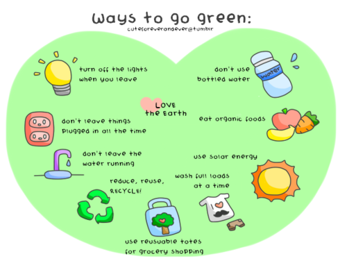 Go green quotes quotesgram for Ways to save energy at home for kids