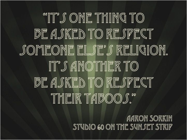 Quotes from studio 60 on the sunset strip