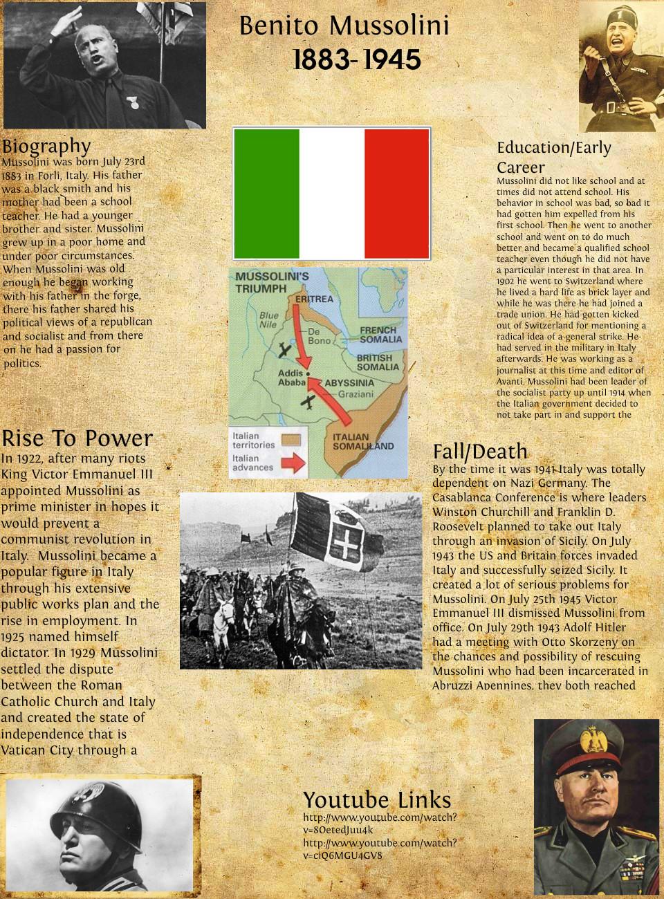 Mussolini quotes