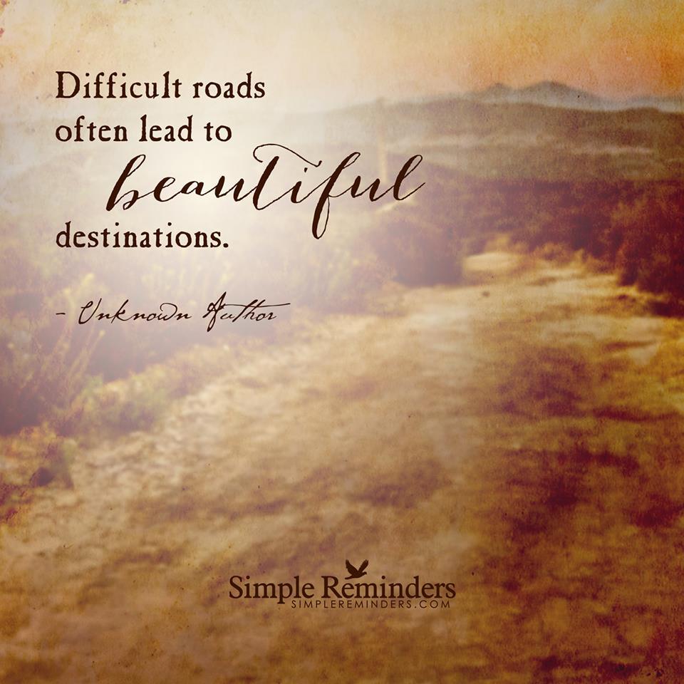 Beautiful Road Quotes. QuotesGram