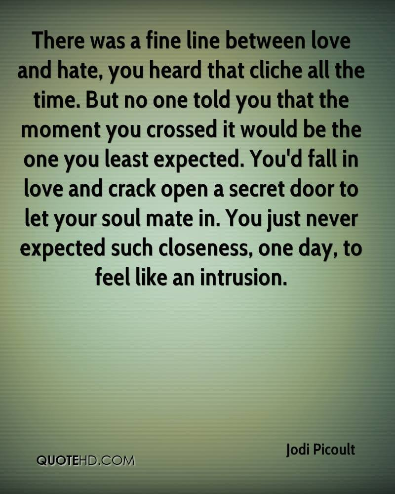 Love Hate Quotes: Between Love And Hate Quotes. QuotesGram