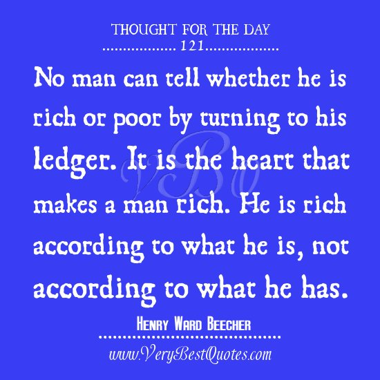 Quotes About The Rich And Poor: Rich In Love Quotes. QuotesGram