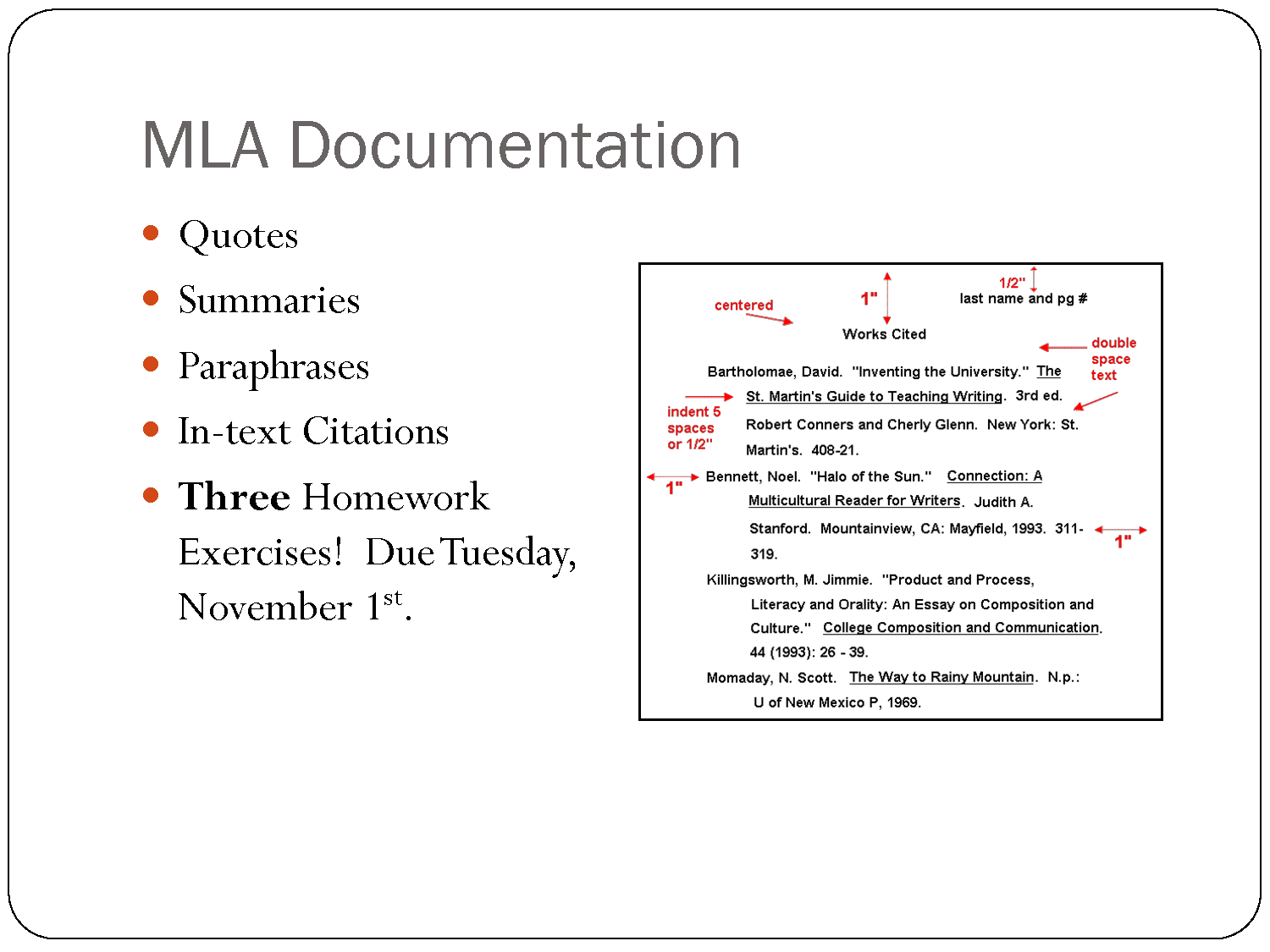 Quoting In Mla Format Quote Quotesgram How To Cite A Movie Paper