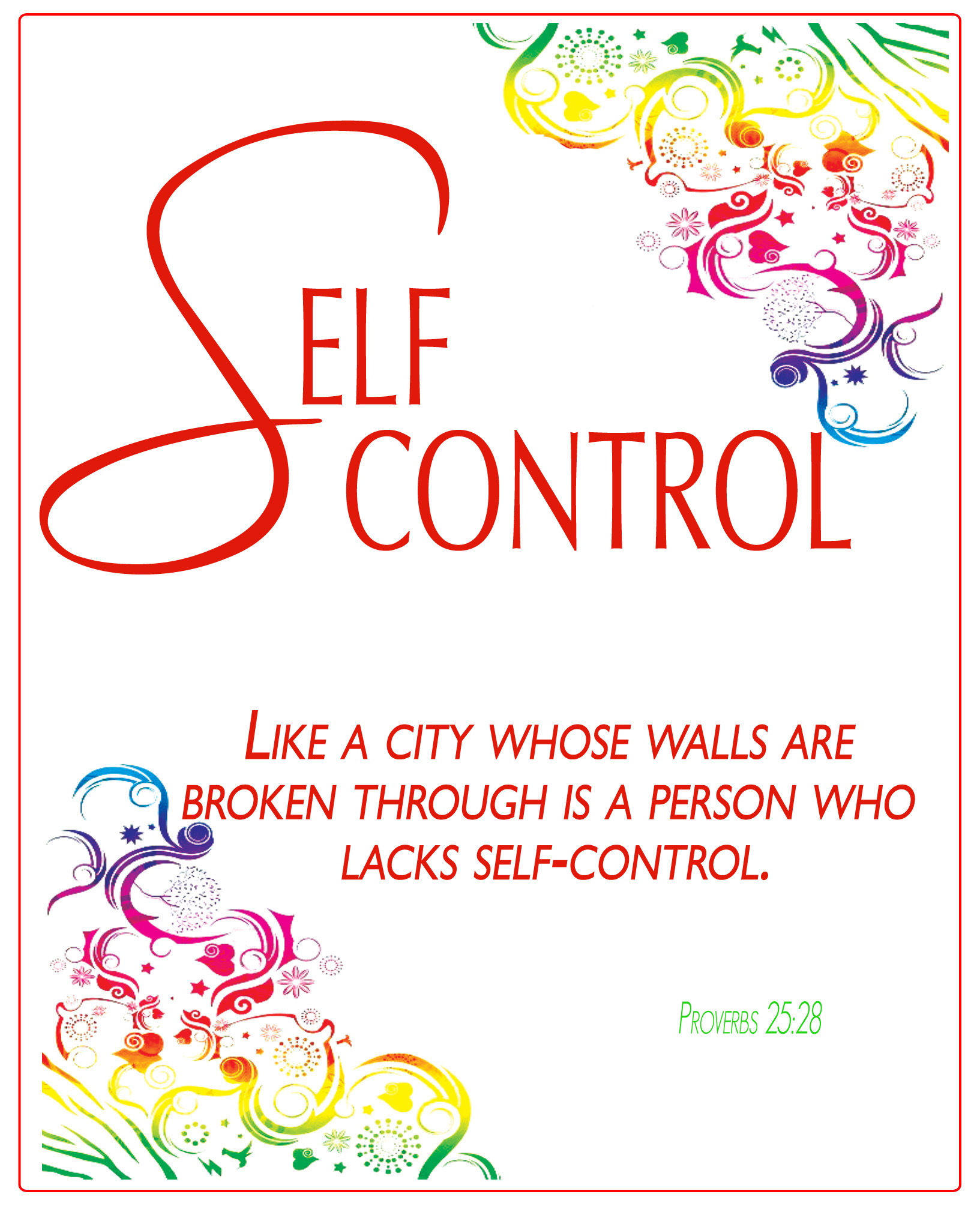 Quotes On Self Control Clip Art. QuotesGram
