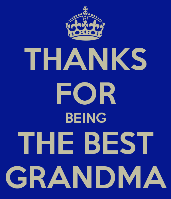 Best Thanks Quotes: Worlds Best Grandma Quotes. QuotesGram