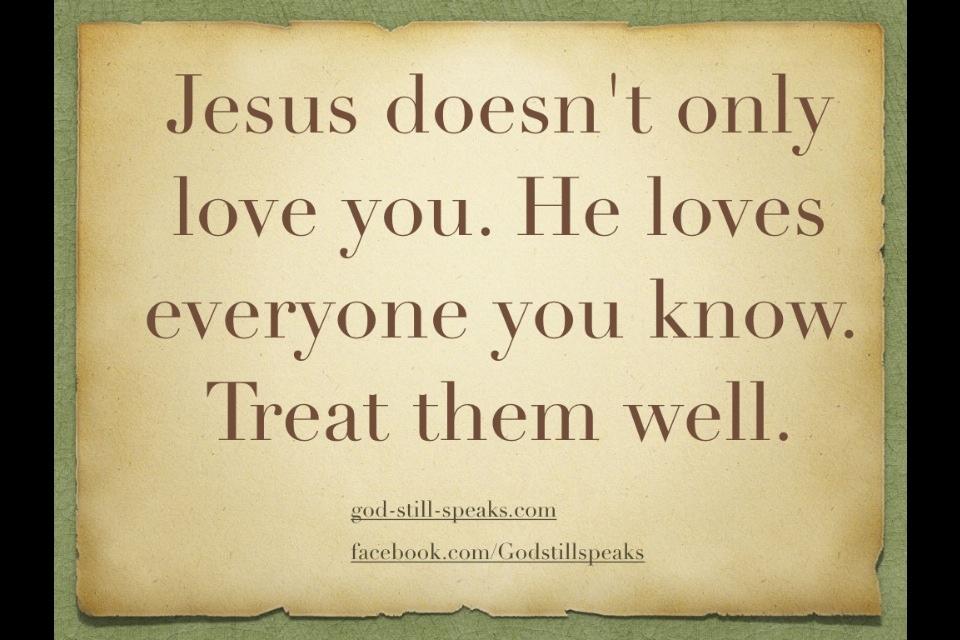Quotes We Love You Jesus. QuotesGram