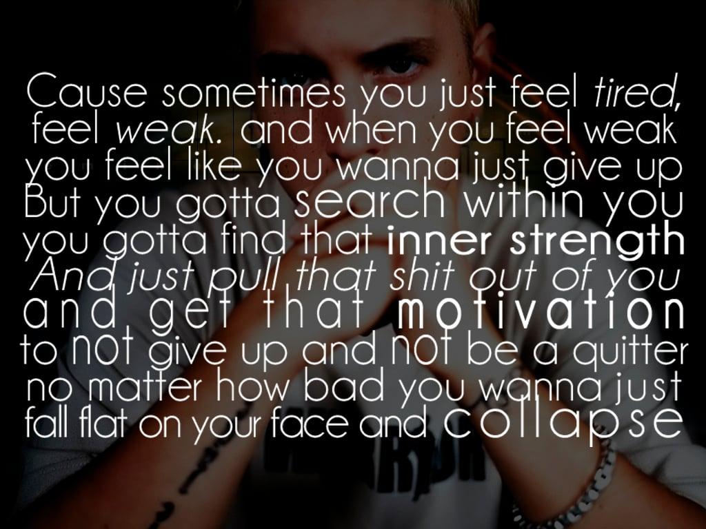 Eminem Till I Collapse Quotes Quotesgram