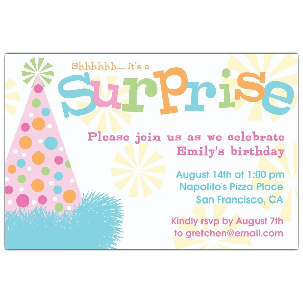 Birthday Quotes For Invitations: Surprise Party Quotes. QuotesGram