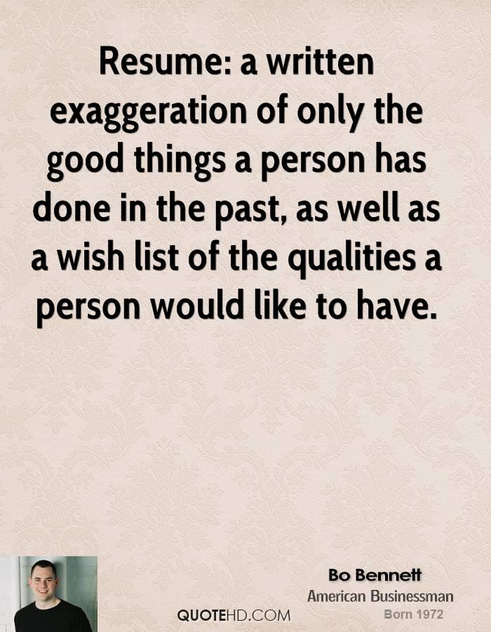 Funny Resume Quotes. QuotesGram