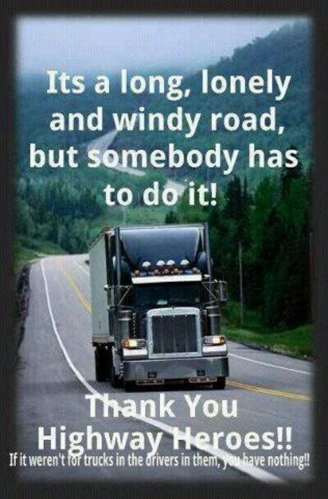 Funny Quotes About Truck Drivers. QuotesGram
