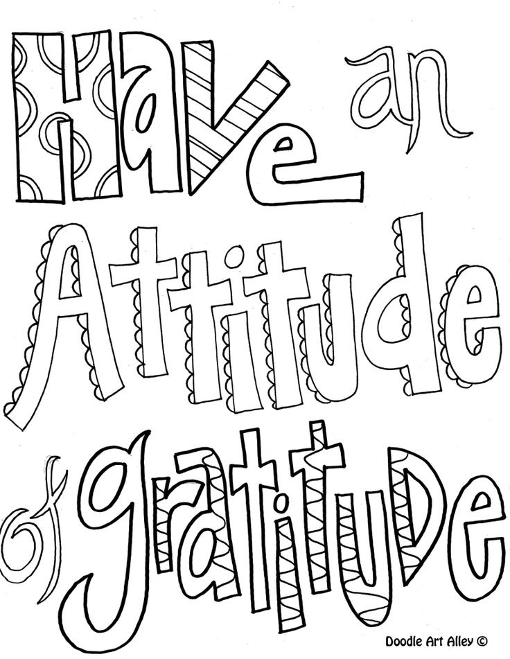 Quotes coloring pages cute quotesgram for Positive quotes coloring pages