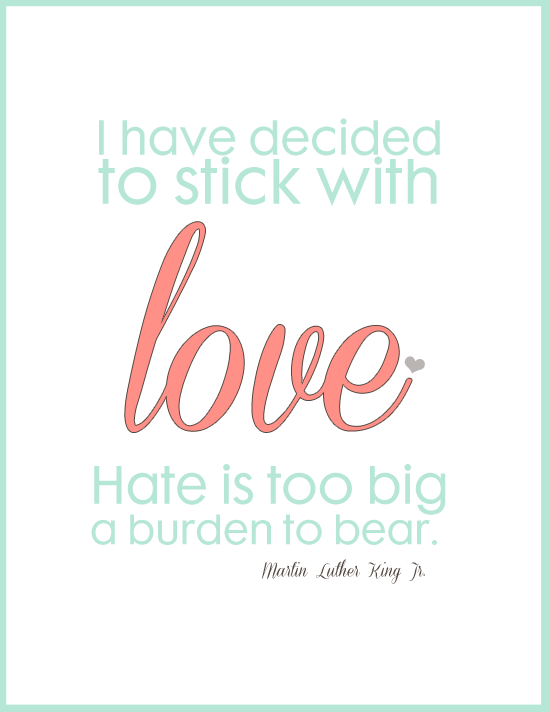 Quotes About Love: Martin Luther King Jr Quotes On Love. QuotesGram