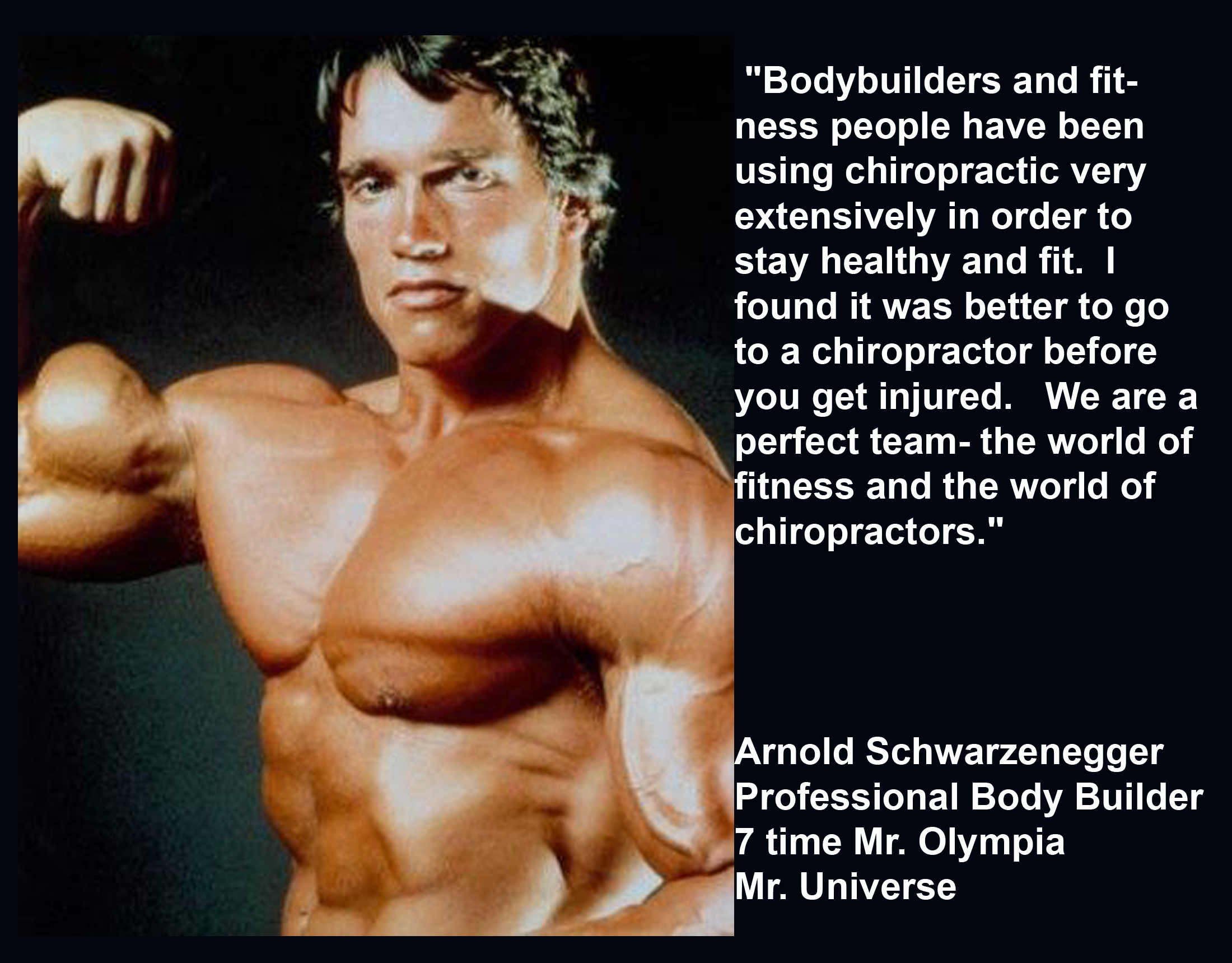 Celebrity Chiropractic Quotes Quotesgram