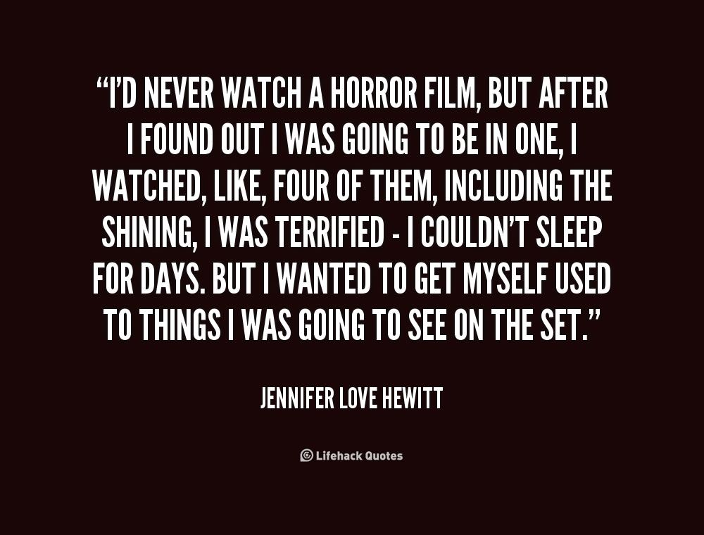 Horror Movie Quotes: Horror Movie Quotes About Love. QuotesGram