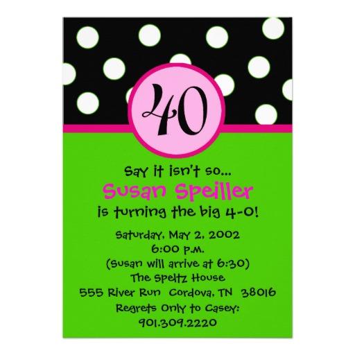 40 Birthday Quotes For Women Quotesgram: Invitations For 40th Birthday Quotes. QuotesGram