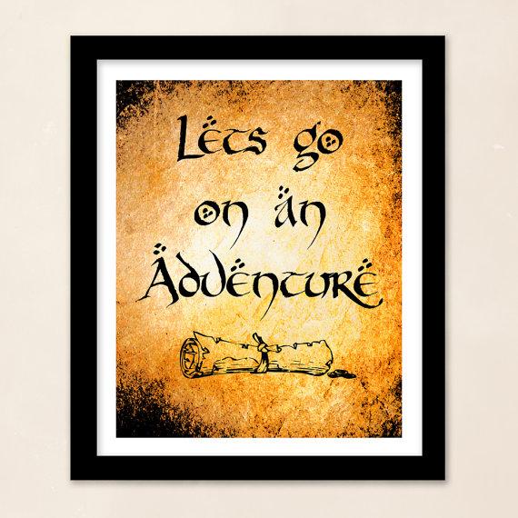 Hobbit Quotes On Adventure. QuotesGram