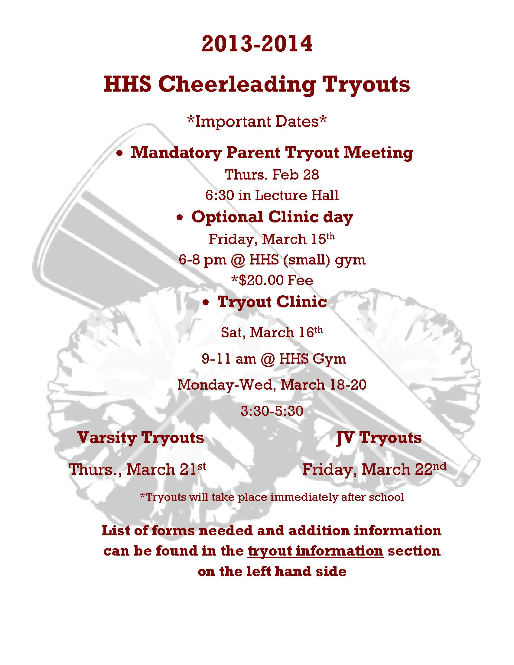 Inspirational Quotes For Cheer Tryouts QuotesGram – Sample Cheer Leading Tryout Score Sheet