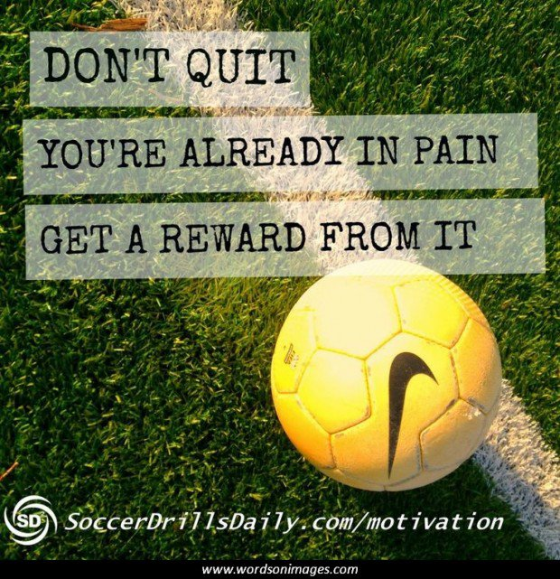 Inspirational Soccer Quotes And Sayings: Motivational Soccer Quotes For Girls. QuotesGram