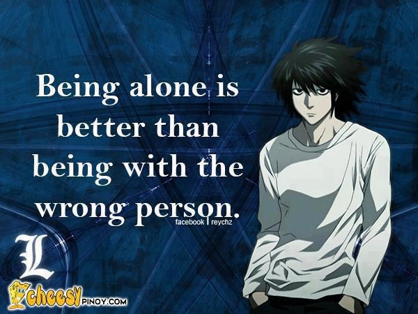 Anime Quotes: Anime Alone Quotes. QuotesGram