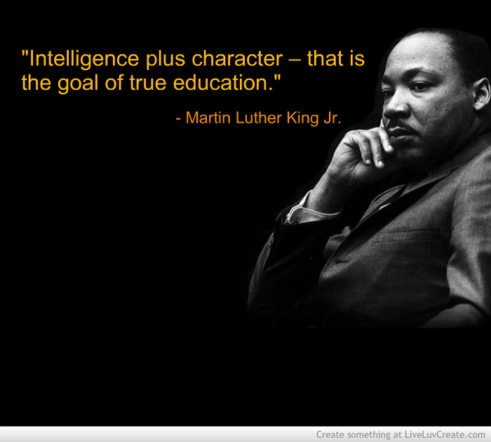 Mlk Quotes On Education. QuotesGram