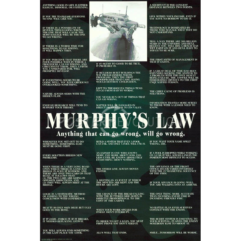 funny murphy law quotes