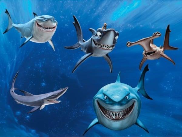 finding nemo shark quotes quotesgram