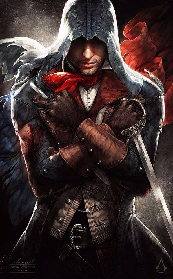 assassins creed unity arno victor dorian