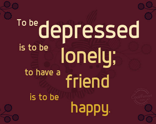 Quotes Feeling Lonely And Depressed. QuotesGram