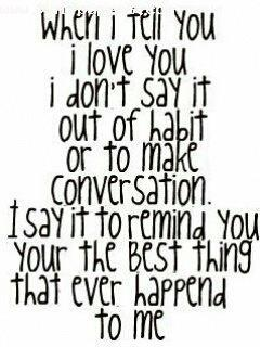 To happened quotes best thing ever that the me 9 Best