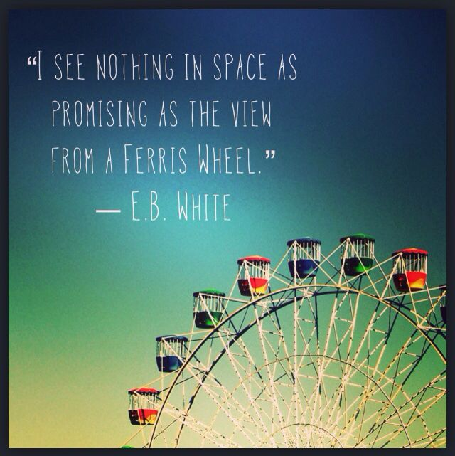 Quote Till The Wheels Fall Off: Ferris Wheel Life Quotes. QuotesGram