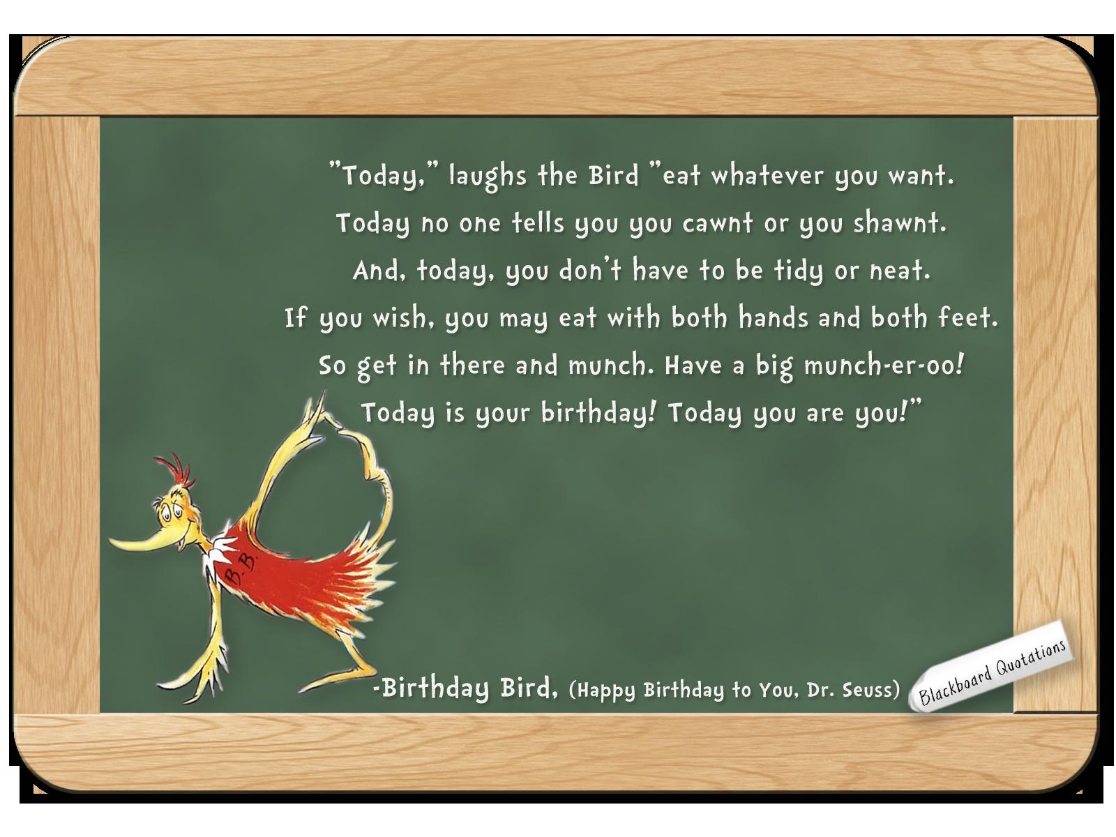Birthday Bird Quotes. QuotesGram