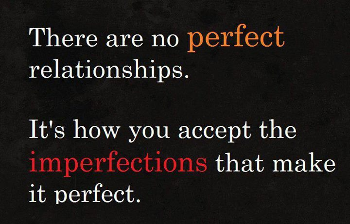 is there perfect relationship