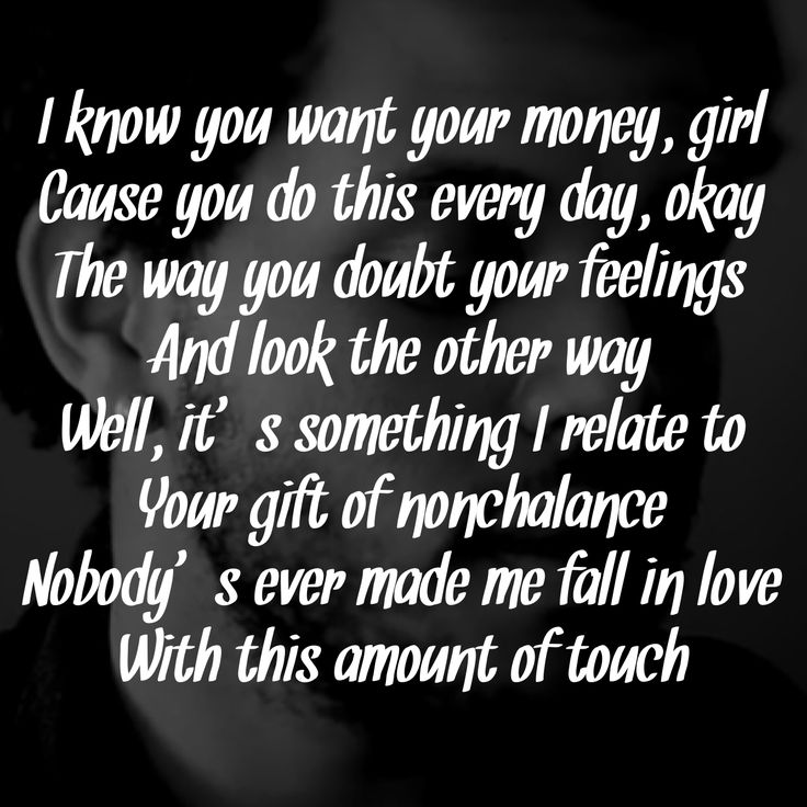 The Weeknd Song Quotes. QuotesGram