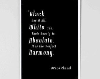 coco chanel quotes prints quotesgram