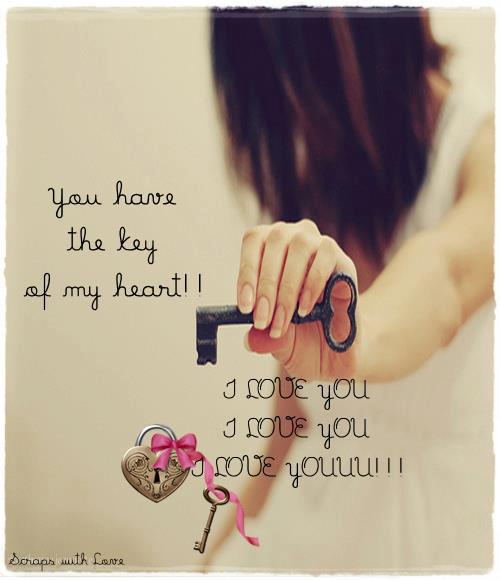 You Have The Key To My Heart Quotes. QuotesGram