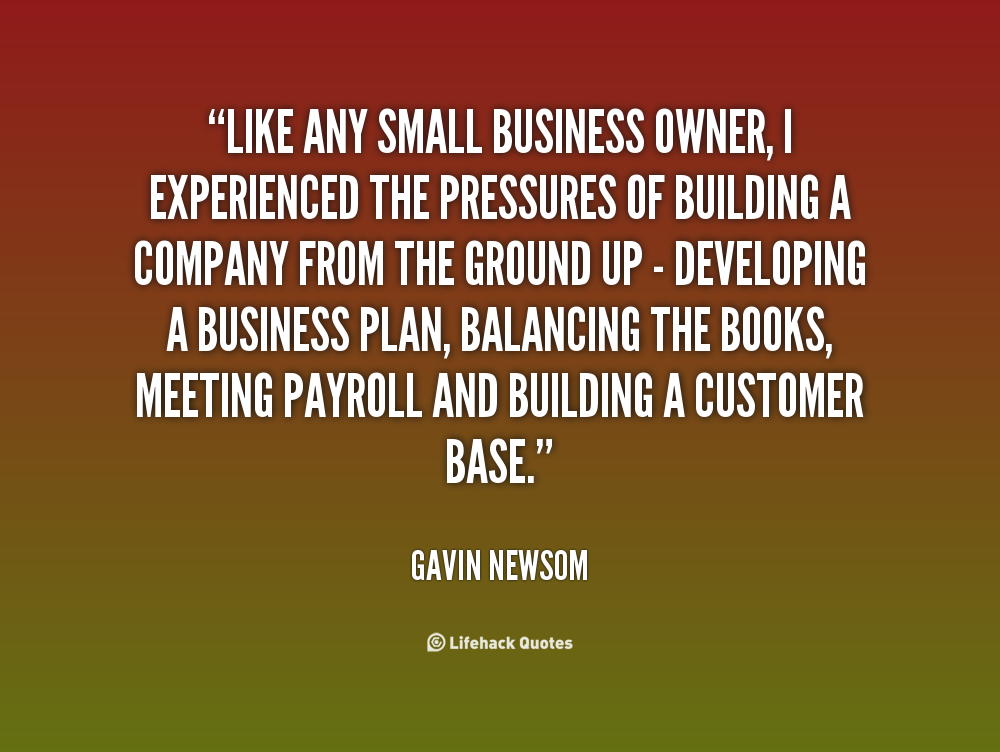 Business Quotes: Small Business Owners Quotes. QuotesGram