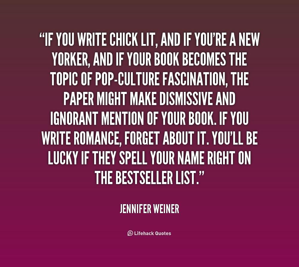 Jennifer Weiner Quotes. QuotesGram