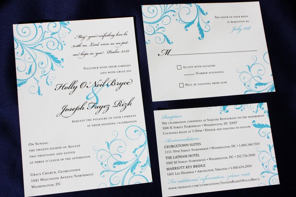 Wedding Invitation Wording With God ~ Yaseen for