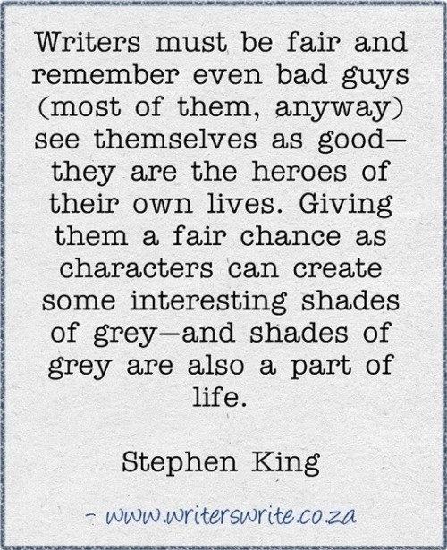 Stephen king writing process