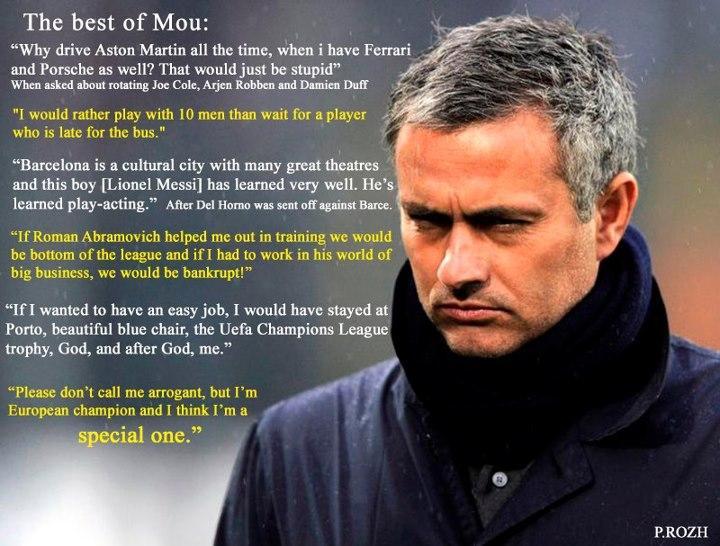 Jose Mourinho Quotes. QuotesGram