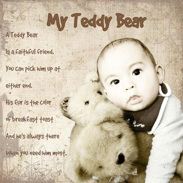 Love Quotes With Teddy Bear Images: Teddy Bear Quotes And Sayings. QuotesGram