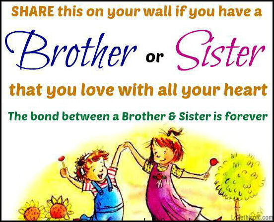 brother and sister quotes siblings quotesgram