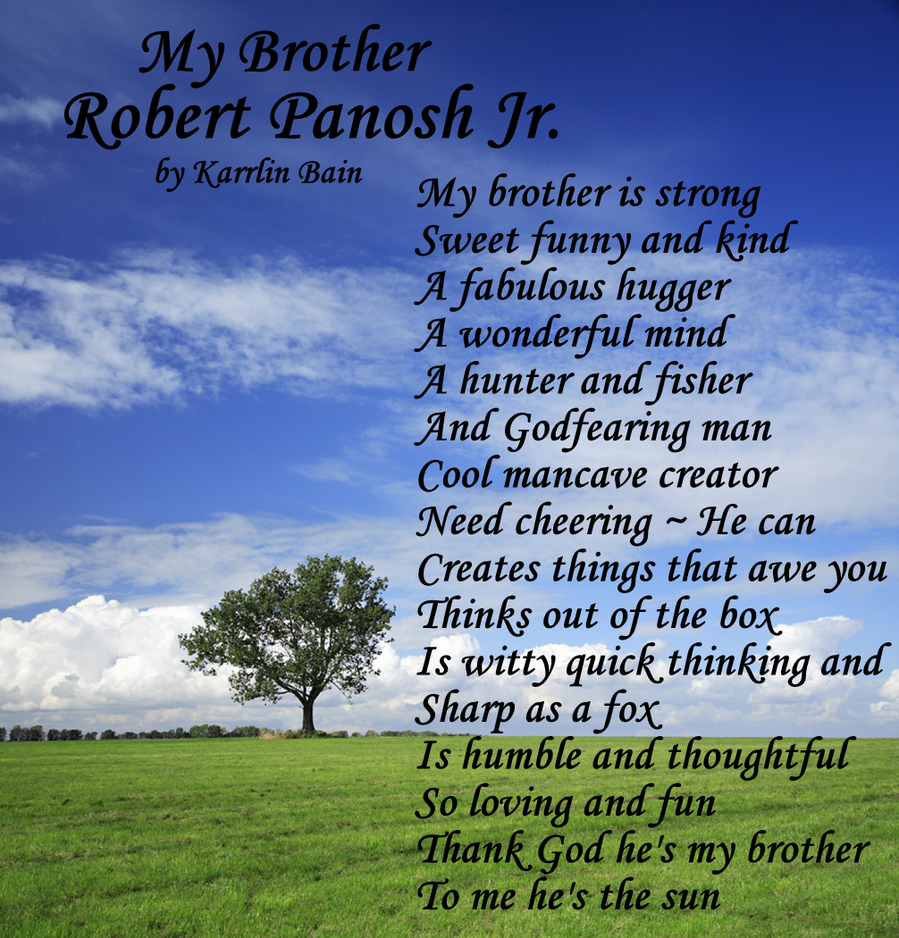 Brother And Sister Support Quotes: Big Brother Poems And Quotes. QuotesGram