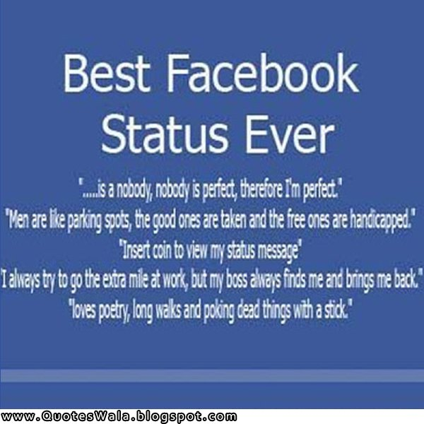Facebook Quotes And Saying: Daily Quotes For Facebook Status. QuotesGram