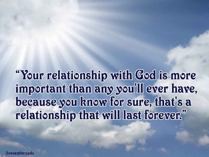 Relationship With God Quotes Quotesgram