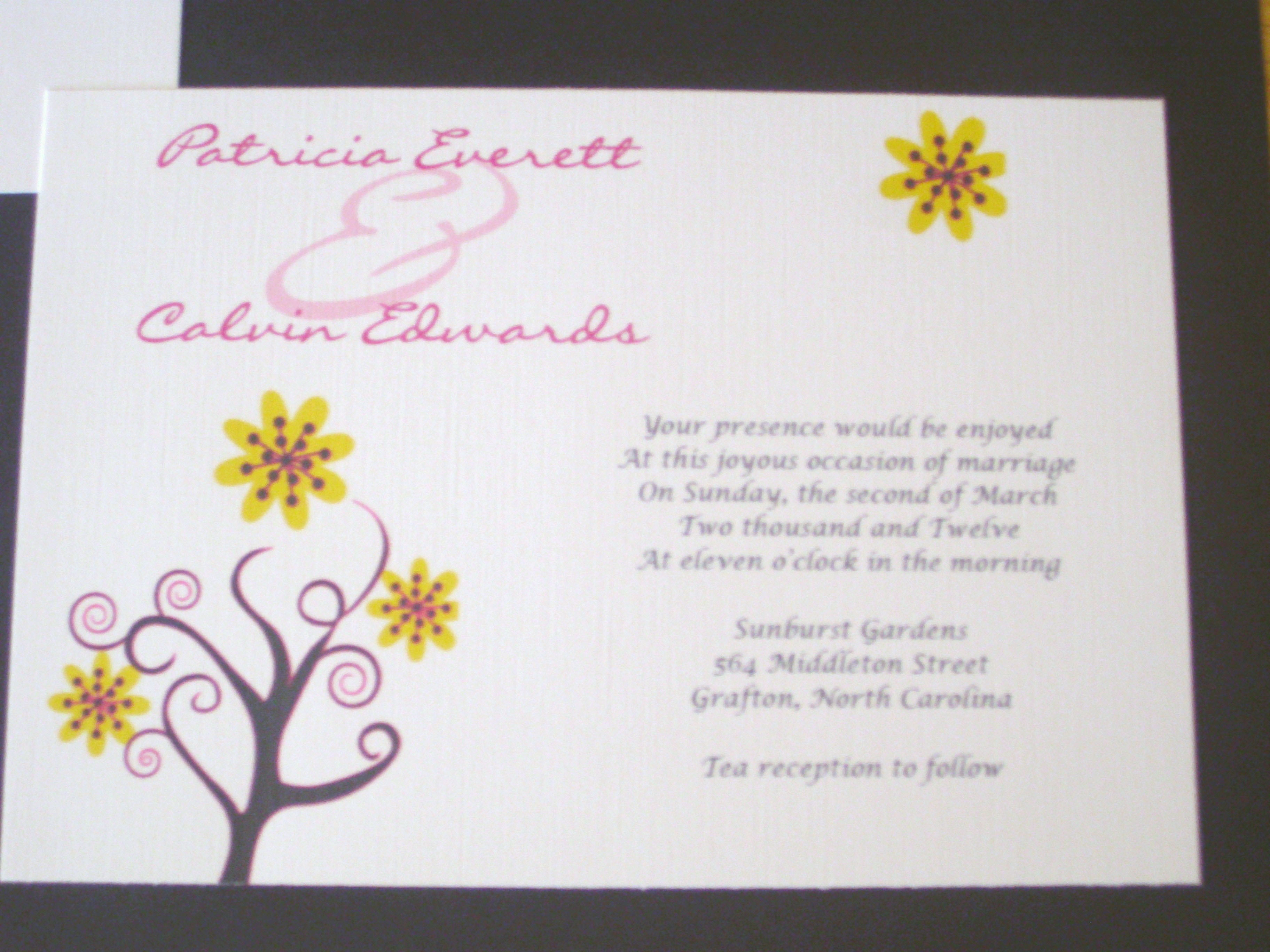 Wedding Quotes For Invitations: Invitation Quotes. QuotesGram