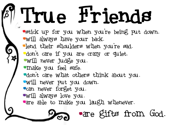 Essay On True Friend